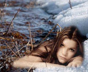 текст песни «Тает снег, течёт вода»